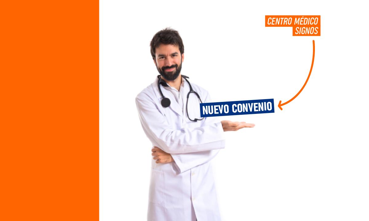 ¡Nuevo convenio con Centro Médico Signos!