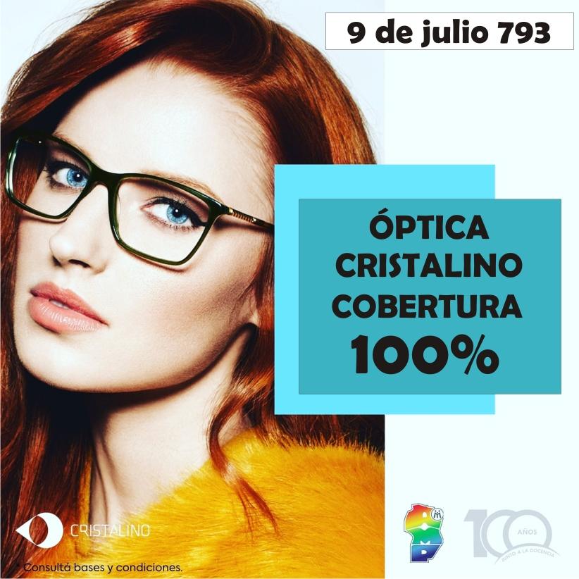 ¡Convenio Exclusivo en Óptica Cristalino!