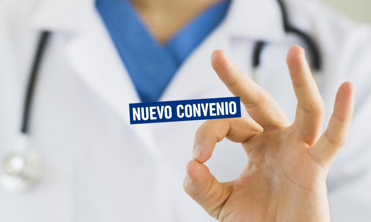 ¡Nuevo convenio – Centro Médico!